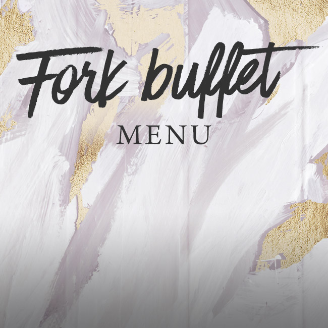 Fork buffet menu at The Plough Inn