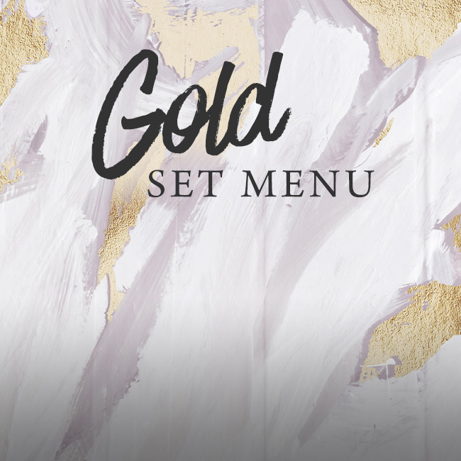 Gold set menu at The Plough Inn