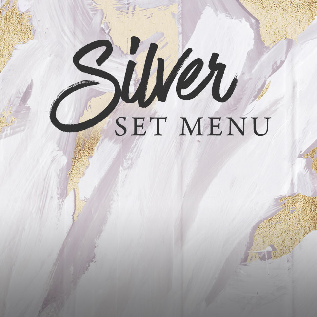 Silver set menu at The Plough Inn