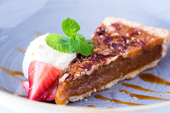 Desserts at The Plough Inn this Father's Day